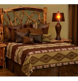 image for Pueblo Heather DELUXE Bed Ensemble Set
