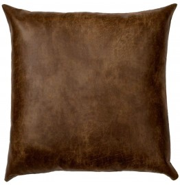 image for Pueblo Heather Silt Faux Leather Eurosham Cover 26 x 26