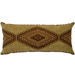 image for Pueblo Heather Southwest Throw Pillow 12 x 26