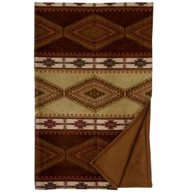image for Pueblo Heather Southwest Throw Blanket 54 x 72