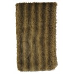image for Raccoon Faux Fur Throw Blanket 54 x 72