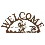 image for Rain Dancer Southwestern Welcome Sign