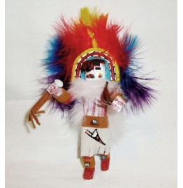 image for Rainbow Kachina Southwest Christmas Ornament