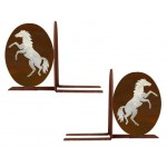 image for Horse Rearing Western Bookend Set