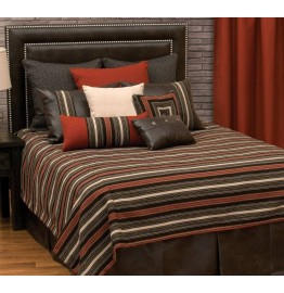 image for BASIC Red Pepper Southwest Bed Ensemble Set