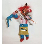 image for Red Tail Hawk Kachina Southwest Christmas Ornament