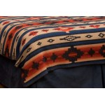 image for Redrock Canyon Southwest Bedspread by Wooded River