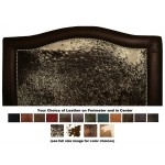 image for Ridge Leather Upholstered CAL-KING Headboard