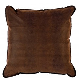 image for Southwestern Faux Alligator Leather Eurosham Pillow Cover
