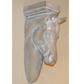 image for Sculpted Horse Head Corbel Wall Decor Small