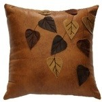 image for Smooth Leather Pillows