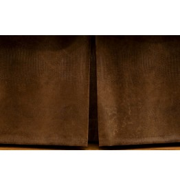 image for Southwest Faux Alligator Leather Tailored Bedskirt