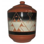 image for Bear Butte Lakota Sioux Pottery Cookie Jar