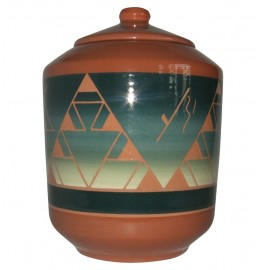 image for Cedar Pass Lakota Sioux Pottery Cookie Jar