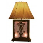 image for Mystic Yei Figure Southwest Lamp with Nightlight 25 inch