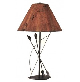 image for Southwest Bow & Arrow Metal Art Table Lamp & Shade 31.5""