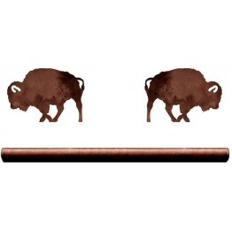 image for Buffalo Drapery Pole Rod Holders (Rod Optional)