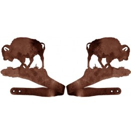 image for Buffalo Bison Drapery Curtain Tie Backs