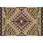 image for Southwest Butte Clay Woven Placemat Set of 8