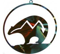 image for Bear Fetish Southwest Christmas Ornament