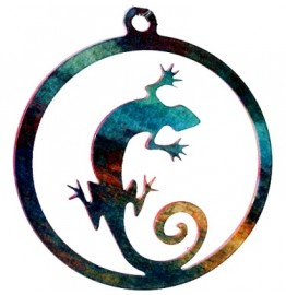 image for Gecko Lizard Southwest Christmas Ornament