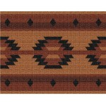 image for Adobe Tan Southwest Jacquard Woven Placemat Set of 8