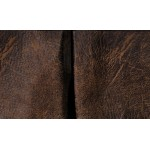 image for Tailored Colt Coffee Faux Leather Bed Skirt