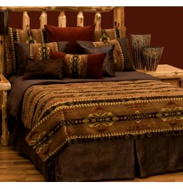 image for BASIC Stampede Southwest Bedding Ensemble Set