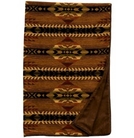image for Stampede Southwest Chenille Throw Blanket