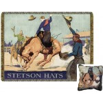 image for Stetson Bronco Rider Tapestry Throw & Pillow Set