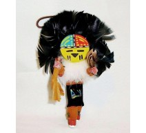 image for Sunface Navajo Kachina Southwest Christmas Ornament