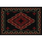 image for Taos Southwest Jacquard Woven Placemat Set of 8