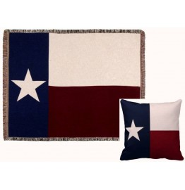 image for Texas State Flag Tapestry Throw & Pillow Set