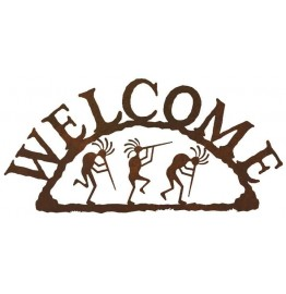image for Kokopelli Southwestern Welcome Sign