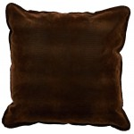 image for Western Faux Alligator Leather Eurosham Pillow Cover