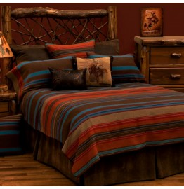 image for DELUXE Tombstone II Western Bed Ensemble Set