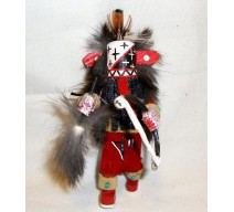 image for Navajo Warrior Kachina Christmas Ornament