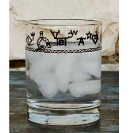 image for Rope & Brands 8-Pc DOF Glass Set 14 oz