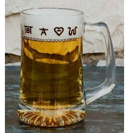 image for Rope & Brands 15 oz Beer Mug Set of 8