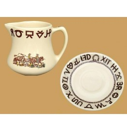 image for Westward Ho Rodeo Gravy Cup & Saucer Set