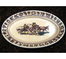 image for Westward Ho Rodeo Oval Serving Platter