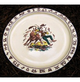image for Westward Ho Rodeo Round Serving Platter