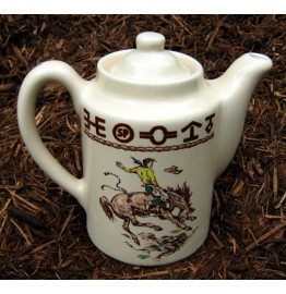 image for Westward Ho Rodeo Western Teapot Coffee Server