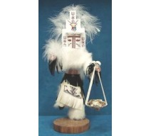 image for WHITE CLOUD Kachina Doll Navajo Made 3 sizes