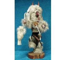 image for WOLF Kachina Doll Navajo Made 3 sizes