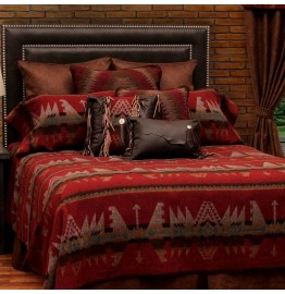 image for DELUXE Yellowstone III Southwest Bed Ensemble Set