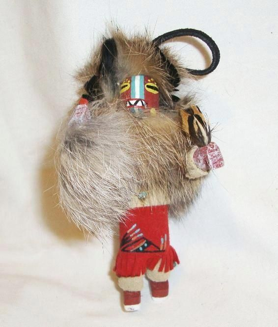Badger navajo kachina southwest christmas ornament for Badger christmas decoration
