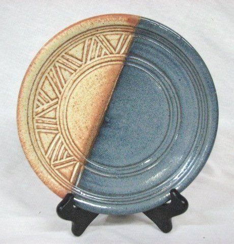 hand thrown pottery plates images