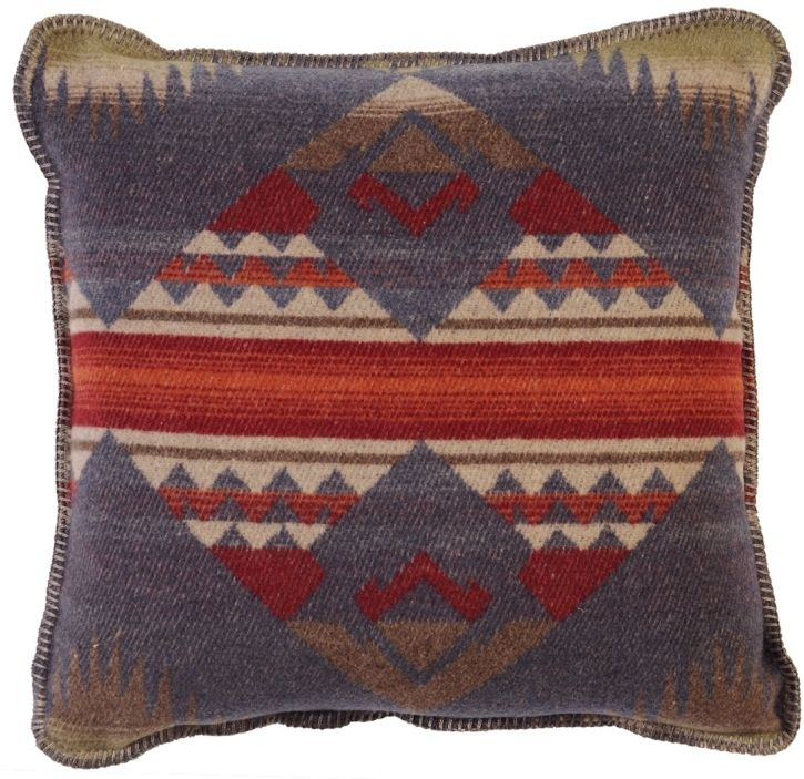 Southwestern Print Throw Pillows : Socorro Southwestern Decorative Pillow 20 x 20