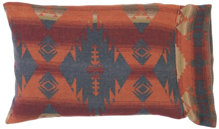 Southwestern Pillow Shams : Socorro Southwestern Sham Pillow Cover in Standard and King Size